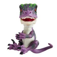 Fingerlings Untamed Raptor RAZOR Interactive Collectible Baby Dinosaur (Purple)