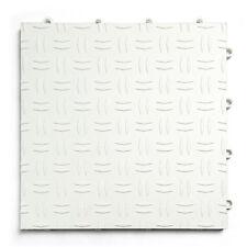 WHITE - Diamond 30 Pack Garage Floor - GarageTrac- MADE IN THE USA