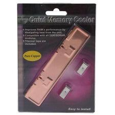 EverCool EC-MC-CO SDRAM DDR DDR2 RAM Memory Cooling Heatsink Cooler Kit Copper