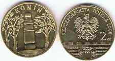 """""""KONIN"""" 2008 historische Staedte 2 Zl Muenze Bfr"""
