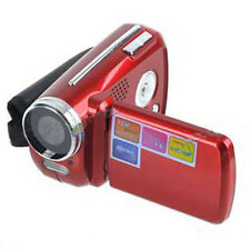 "Mini Digital Video Camera DV Camcorder 12MP 4xZoom 1.8"" LCD Kids gift Red"