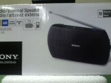 Sony SRF-18 Brand New Sony Am/Fm Portable Radio/Speaker SRF18