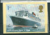 wbc. - GB - PHQ CARDS - 2004- OCEAN LINERS - COMPLETE SET  MINT