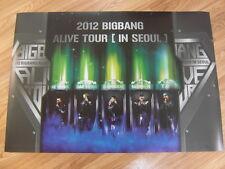 BIGBANG - ALIVE TOUR IN SEOUL 2012 LIVE CONCERT DVD [ORIGINAL POSTER] K-POP