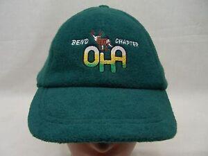 OHA - OREGON HUNTERS ASSOCIATION - BEND CHAPTER- ADJUSTABLE FLEECE BALL CAP HAT!