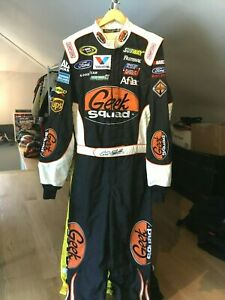 CARL EDWARDS ,2012 RACE USED, GEEK SQUAD, FORD ROUSH FENWAY, DRIVERS FIRE SUIT