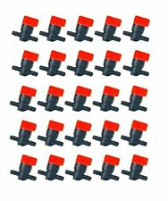 "(25) FUEL GAS SHUTOFF CUTOFF VALVES 1/4"" for Stens 120-212 Rotary 5841 Tractors"