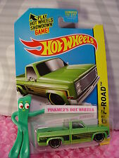 2014 Hot Wheels '83 CHEVY SILVERADO truck1983 #136☆Kmart Exclusive AMAZON GREEN☆