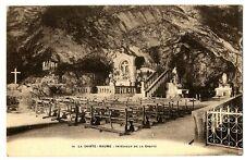 CPA 83 Var La Sainte-Baume Intérieur de la Grotte