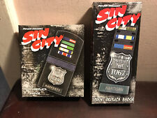 Sin City Limited Edition Movie Replica 2-Badge Set New L@@K 2500 made