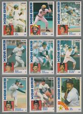 1984 O-Pee-Chee Boston Red Sox Team Set (16) From Vending Case! Boggs & Rice