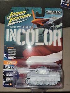 Johnny Lightning JLML004A-3 German Panther G Tank-Greatest Generation 1:64 New