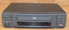 *For Parts* Jvc (Hr-Vp404U) 4 Head Dual Audio Output Vcr With Vcr Plus *Read*