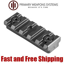 "Primary Weapons Systems PWS Polymer KeyMod Picatinny Rail Section 5-Slot (2"")"