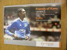 19/08/2008 Portsmouth v Friends Of Kanu [Kanu Heart Foundation] . Thanks for vie