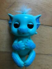 WowWee Fingerlings Blue Baby Dragon NOA with Electronic Sounds & Movement