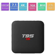 T95 S1 Android Box 7.1 1GB 8GB Quad Core Amlogic S905W 4K Smart TV WIFI