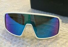Oakley Sutro Cycling sunglasses glasses Matte White/Prizm Sapphire Lens Custom