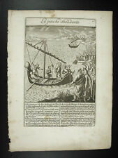 La pêche abondante Jesus Christ c1650 Michael NATALIS The abundant fishing