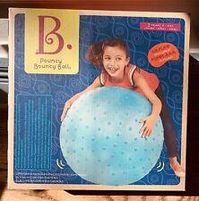 B. Toys Pouncy Bouncy Tactile Ball w/Bumps - Sensory seeking, balance, attention