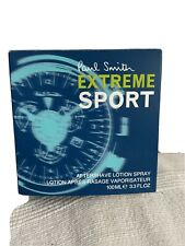 New listing Paul Smith Extreme Sport Aftershave Lotion Spray 100ml Not Sealed But Unused