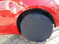 """4 x Wheel Covers to Protect Wheels 14"""" to 16"""" Rim or up to 27"""" Tyre"""