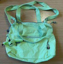 Kipling Lime Green Over the Shoulder Bag Holly Keyring