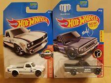 Hot wheels pick up trucks Datsun & Mazda ( lot of 2 )