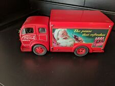 New ListingDanbury Mint 1955 Coca Cola Christmas Delivery Truck 1/24Th red