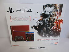 CONSOLE PS4 PLAYSTATION 4 - METAL GEAR PHANTOM PAIN LIMITED EDITION - NEW - PAL