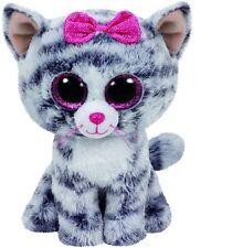 Ty Beanie Boos Regular - Kiki The Grey Cat 37190