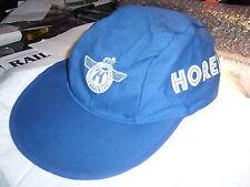 Horex Mütze Cap in blau mit Krone und Schrift seitlich