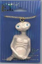 ET E.T. Extra Terrestrial Figure Necklace 1982 near Mint Sealed