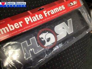 Holden HSV Slim Line Number Plate Cover (one only).Part SPZ-300112
