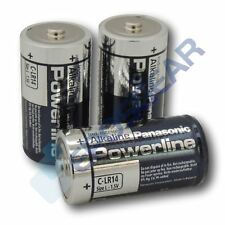 4 Panasonic Powerline C LR14 MN1400 Industrial Alkaline Battery Batteries