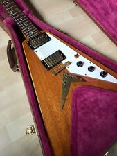 2002 EPIPHONE FLYING V KORINA 58 REISSUE INCLUDES CASE - CHEAP SHIPPING