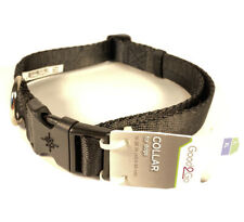 Good2Go Black Adjustable Dog Collar For XL/L Dogs 16-26 IN New With Tags Durable