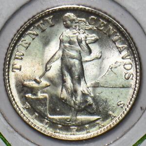 Philippines 1945 20 Centavos BU 296145 combine