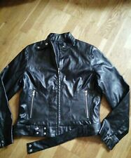 Dorothy Perkins Faux Leather Biker Jacket Size 14