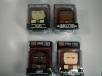 Tikki Totem Star Trek Full Collection - Data - Worf - Picard - Forge