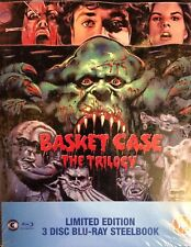 Basket Case The Trilogy - UK Steelbook ( Blu-ray ), New & Sealed Limited Edition