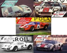 Calcas Ford GT40 Le Mans 1966 1:32 1:24 1:43 1:18 64 87 slot decals