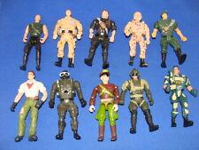 10 Military Figures Corps GI Joe Army Lot #1
