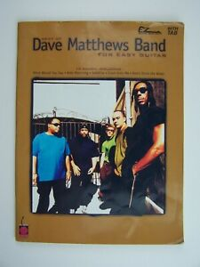Best of Dave Matthews Band for Easy Guitar Sheet Music Song Book