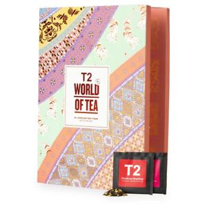 World of Tea 24x Loose Leaf Advent Calendar by T2 Tea