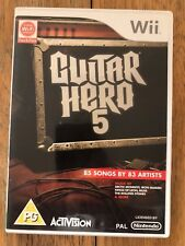 Guitar hero 5 - Wii - Nintendo - Used