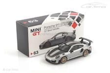 Porsche 911 (991 II) GT2 RS (LHD) GT-silber - MINI GT 1:64 MGT00063-L