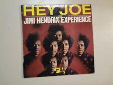 """JIMI HENDRIX EXPERIENCE: Hey Joe + 3-France 7"""" 1967 Barclay No 071111 M EP PCV"""