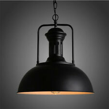Retro Pendant Light Industrial Barn Ceiling Metal Lighting W/ Chain Vintage Lamp