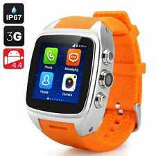 Waterproof 3G WIFI M7 Bluetooth Smart Wrist Watch Phone Mate GPS For Android MN